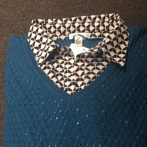 Women's layered sweater